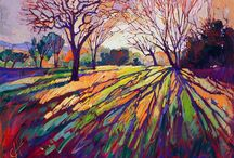 colour ful landscape paintings