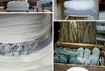 Blends of Blues / Decorating ideas with various shades of blue!