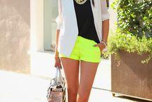 Neon fashion trends !!*