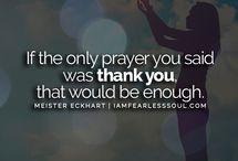 | Gratitude & Abundance | / Having a mindset of gratitude is the key to ultimate abundance.