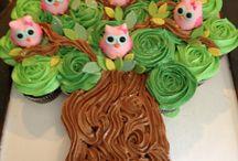 Pullapart cupcakes / Genius