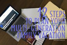Planning family travel / Ideas to make planning your family travel easier