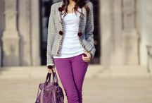 Clothing: Wear it Like This! / Color schemes I like ...  / by Erin Thames
