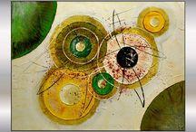 peinture contemporaine / by Isabelle Duff