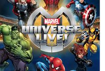 Marvel Universe Live Coming To Richmond / FEATURING THE GREATEST MARVEL SUPER HEROES AND VILLAINS