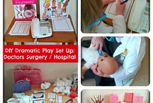 Dramatic Play in Early Childhood / Ideas for children's dramatic and imaginative role play