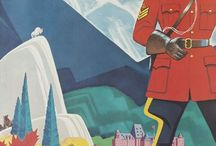 Vintage Canadian Posters / by Patti Blogs