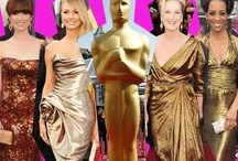 Gold Oscar Dresses / by BeGolden
