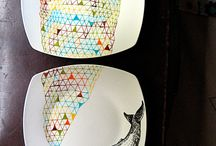 Arty plates
