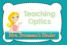 Teaching Optics / Ideas, labs, resources and activities for teaching Optics. In particular for Grade 10 Science: SNC2D, SNC2P, SNC2L.