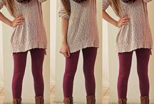 How to wear tights / leggings / stockings