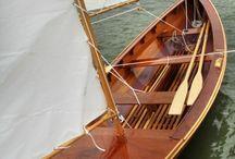 Wooden yacht