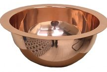 A Copper Bathroom / Create a statement bathroom with a copper bath tub, handcrafted and tin lined. Use this board to learn how you can accessorise and play around with design.