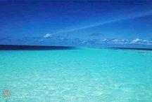 Azzurro...come il mare! / E nel Salento l'azzurro del mare si confonde con quello del cielo!