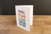 """""""just because"""" cards by Ella Vine"""