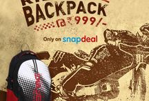 Buy Exclusive Rider Backpack @ 999/- / Buy Exclusive Rider Backpack @ 999/- ...Avail this Exiting Offer Only on Snapdeal. http://www.snapdeal.com/…/be-for-bag-multicol…/649605135396… #BeforBag #Backpack #Snapdeal #ExitingOffer