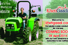 Subscribe & Visit / Khetigaadi.com is India's first and biggest online Agro Mechanism revaluation for Tractors and Implements or equipments.  For new approach of Agro Mechanism for Farmer visit & subscribe @ http://bit.ly/1ZHR3sQ