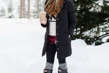Northern winter clothes