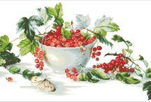Cross ctitch / Fruits