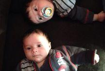 My twins- Kiran and Jai / Family
