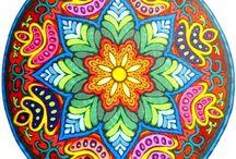 Mandala Paintings/Drawings/Templates