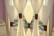 Интерьер шторы