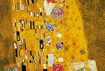 Gustav Klimt / Gustav Klimt (July 14, 1862 – February 6, 1918) was an Austrian symbolist painter and one of the most prominent members of the Vienna Secession movement.  Klimt is noted for his paintings, murals, sketches, and other objets d'art. Klimt's primary subject was the female body, and his works are marked by a frank eroticism. In addition to his figurative works, which include allegories and portraits, he painted landscapes.