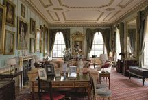 Georgian Drawing Rooms / Upper class drawing rooms from both townhouses and country homes designed in Georgian England