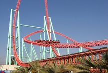 Rollercoasters / #Rollercoasters from around the world. Riding them lets me momentarily escape to a happy place.
