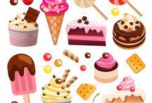 Ice cream et sucreries