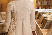 Knitted sweaters/tops / by Lynn Taylor-Bartram