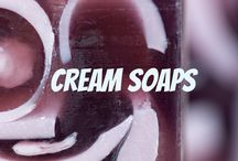 Cream soaps by Sparta Soaps™ / This board belongs to Sparta Soaps™ Natural Cream soap galore. Wide variety of vivid colors, odoriferous sweet - crisp scents, natural root, produced by hands, soaps.