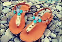 Summer Sandals ss2014 / Handmade Leather Sandal