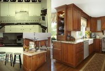 LaFata Cabinets Before & After / Before and after photos of kitchens, bathrooms, entertainment rooms, offices, etc., that were remodeled using LaFata Cabinets.   For your free estimate, call us today at (586)247-1140 or visit our website at LaFata.com.