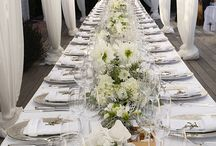 Tablescapes / Fun table setting ideas