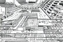 future city sketch