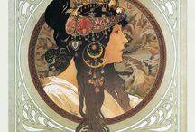 Kalendáře Alfons Mucha - plánovací, stolní, nástěnné / Objevte jedinečné umění českého umělce jménem Alfons Mucha  http://www.pg.cz/cs/kategorie/kalendare