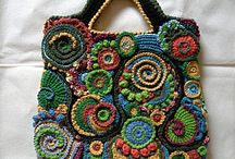 freeform crochet motifs and projects