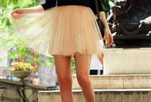 Tutu skirts are <3 / How to style tutu skirts / by Match Clothes Colors