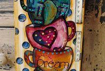 Coffee / Tee Cup Art