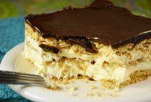 No bake chocolate eclair dessert / Dessert