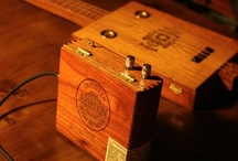 Cigar box guitar / by Thomas Whittle