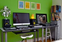 ideas for home studios