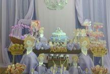 Aniversário Princesinha Sofia personalizado / Festa de 2 anos da minha filha Alanna, utilizando ideias da Internet e materiais encontrados em casas de festa e modificados por mim.
