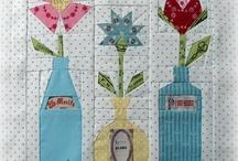 English paper piecing blocks/quilts