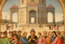Perugino: Sposalizio della Vergine. Caen, musée de beaux arts / Pietro Vannucci, detto il Perugino: Sposalizio della Vergine. Caen, musée de beaux arts