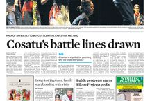 Front pages - March 2015 / News