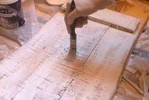 cartel madera