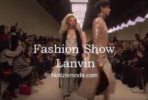 Lanvin / Lanvin collezione e catalogo primavera estate e autunno inverno abiti abbigliamento accessori scarpe borse sfilata donna.