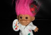 Ma collection de petit trolls !